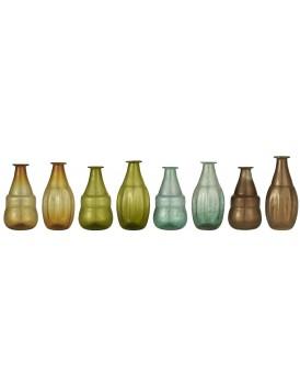 Ib Laursen vaasje gekleurd glas 2