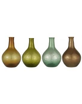 Ib Laursen vaasje gekleurd glas