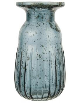 Ib Laursen glazen vaasje blauw