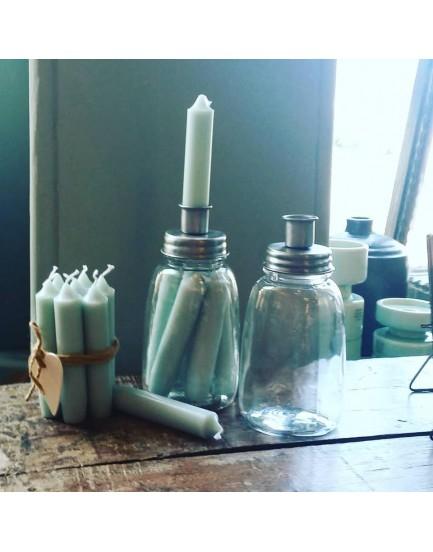 Ib Laursen kandelaar pot met kaarsen