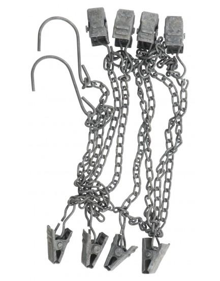 Ib Laursen metalen ketting met clips