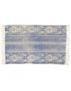 Ib Laursen kleedje dusty blue print