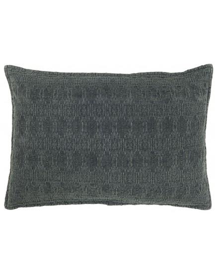 Ib Laursen kussen jacquard dark grey