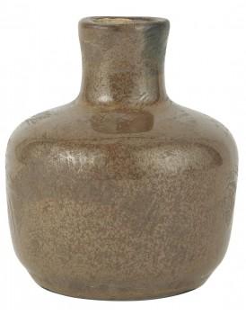 Ib Laursen aardewerk vaasje taupe