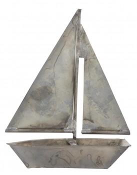 Ib Laursen metalen zeilbootje L