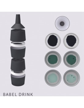 Ibride servies Babel drink