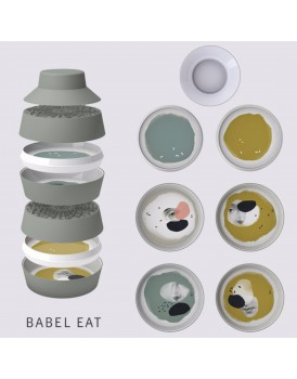 Ibride servies Babel eat