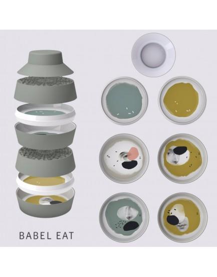 Ibride servies Babel eat