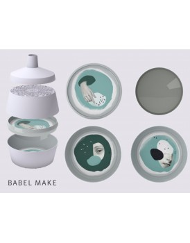 Ibride servies Babel make
