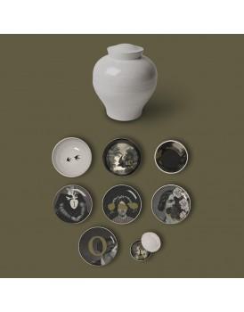 Ibride servies Yuan d'Antan