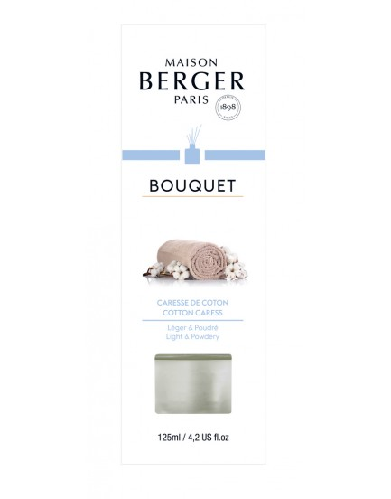 Parfum Berger Bouquet Cube Caresse de coton