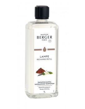 Lampe Berger huisparfum Tentation Santal 1000ml