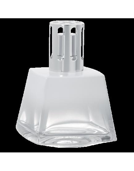 Lampe Berger brander Polygone blanche