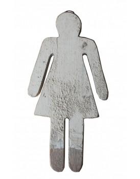 Sloophouten vrouw