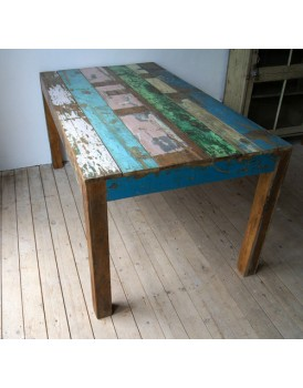 Sloophouten tafel 200 x 100 cm