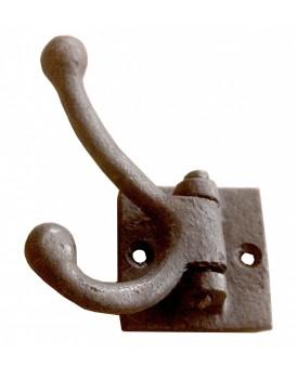 Kapstokhaak staal draaibaar