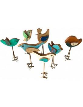Sloophouten vogel
