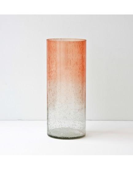 Urban Nature Culture  glazen vaas Por de sol scallop shell