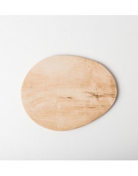 Urban Nature Culture keramiek bord met houtprint