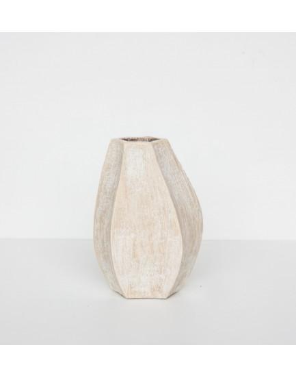 Urban Nature Culture  aardewerk vaas Carambola 21 cm
