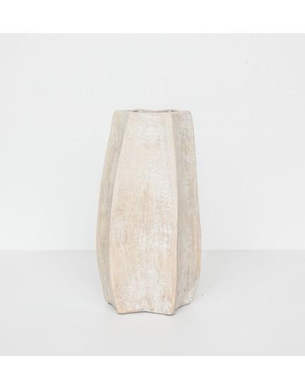 Urban Nature Culture  aardewerk vaas Carambola 28 cm