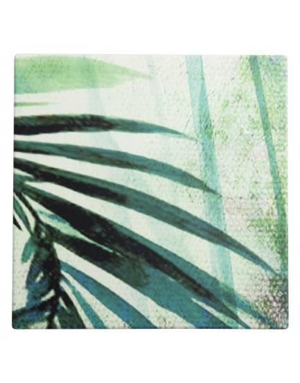 Urban Nature Culture  aardewerk onderzetter Palm tree