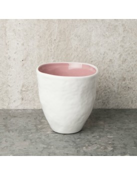 Urban Nature Culture  aardewerk beker light pink