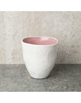 Urban Nature Culture  aardewerk beker light pink