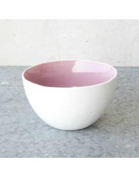 Urban Nature Culture  aardewerk schaal light pink