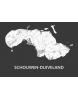 Kaart Schouwen-Duiveland A3