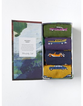 Thought bamboo herensokken giftset classic cars