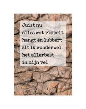 Postkaart gedicht Ariena Ruwaard 6