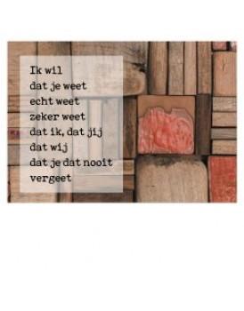 Postkaart gedicht Ariena Ruwaard 7