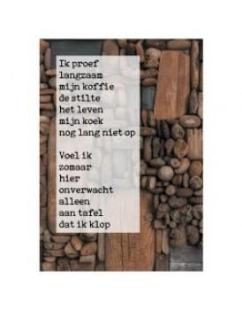 Postkaart gedicht Ariena Ruwaard 8