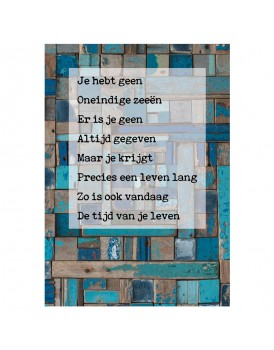 Postkaart gedicht Ariena Ruwaard 10