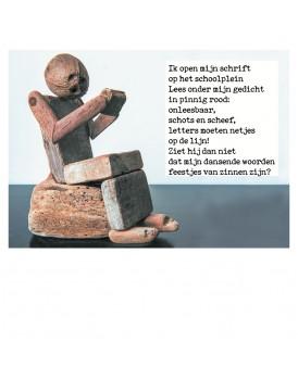 Postkaart gedicht Ariena Ruwaard 14