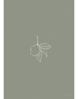 postkaart Inkylines citroen
