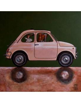 Postkaart Edart Fiat