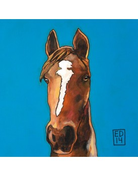 Postkaart Edart paard