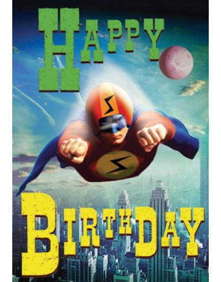 Postkaart happy birthday 3