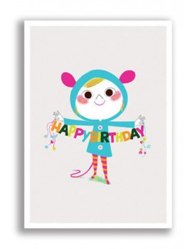 Postkaart happy birthday 19
