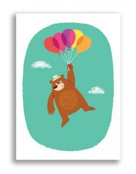 Postkaart happy birthday 20