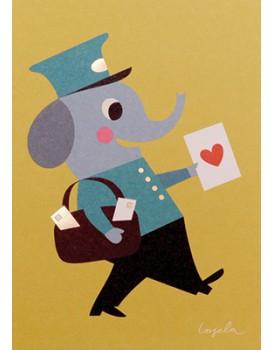 Postkaart cartoon 5