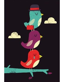 Postkaart cartoon 34