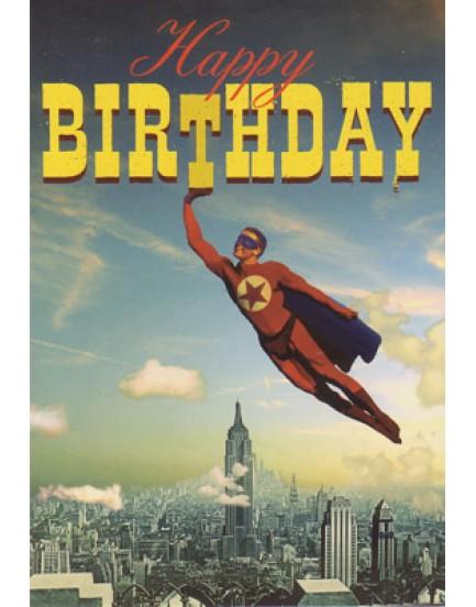 Postkaart happy birthday 6