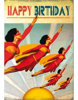 Postkaart happy birthday 8