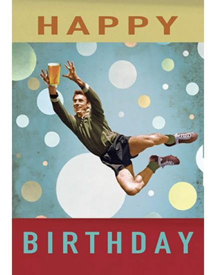 Postkaart happy birthday 9