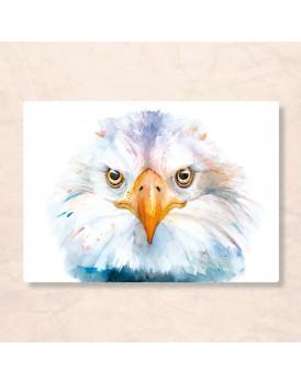 Postkaart  adelaar