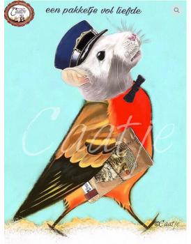 Postkaart Caatje 9