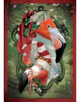 postkaart Kaartje of kip kerst 10